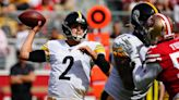 Mason Rudolph alternates between shaky and promising in first start after Ben Roethlisberger injury