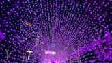 新莊耶誕燈節正式點燈!搶拍「藍海瀑布、星空隧道」浪漫燈海