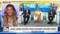 Jessie James Decker talks family life, new music on 'Fox & Friends'