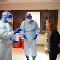 Ebola training response by Army Medicine