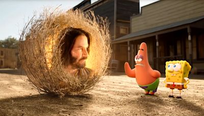 How Keanu Reeves joined the 'SpongeBob SquarePants' Universe