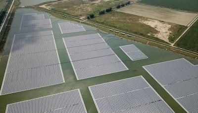 4滯洪池光電廠啟用 年供逾2萬戶用電量