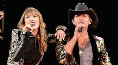 Tim McGraw Says He Was a 'Little Apprehensive' About Taylor Swift Naming Her Debut Single After Him