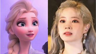 TWICE多賢被稱「人間Elsa」:真的白到反光啊~♥