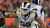 Rams' offensive line success centers on Brian Allen's health