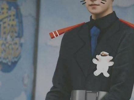 楊洋COS黑貓警長,和明星一起踢毽子,被東北大哥問「吃豬蹄嗎」