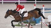 Jessica Springsteen talks, but not about her dad, after Olympic equestrian debut