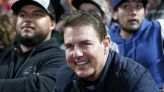 Tom Cruise surprises fans during outing with son Connor at Giants game