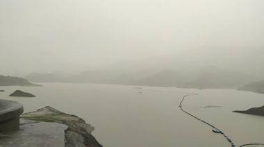 颱風氣流影響台南水庫持續進水 曾文等水庫總蓄水量4億8502萬噸創新高