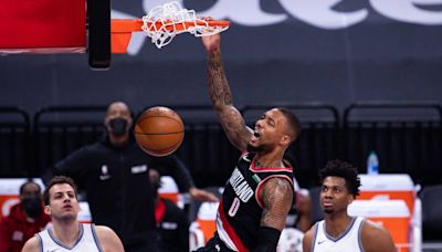 Report: Kings among 'most aggressive' trade suitors for Trail Blazers star Damian Lillard