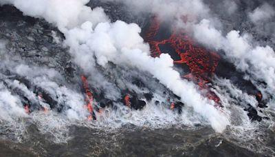 Estos son los efectos que tendrá la bomba de lava en el mar