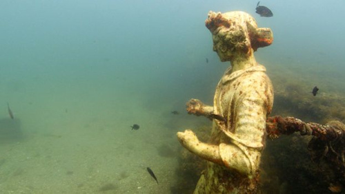 Baiae: A Roman settlement at the bottom of the sea