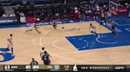 Bruce Brown with an and one vs the Philadelphia 76ers