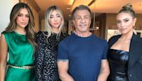 Sylvester Stallone Says He's A 'Lucky Man' To Have His Daughters, But Wishes They Weren't So Tall!