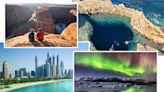Which bucket list trips could be possible this year (and which you'll need to wait longer for)