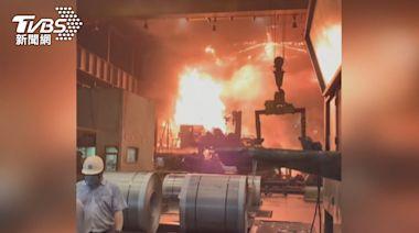 燁聯鋼鐵產線起火波及油槽1員工嗆傷 高市勒令停工