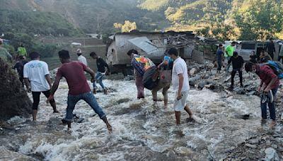 Dozens missing in Nepal as floods, mudslides kill over 100