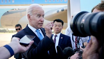 Biden apologises for snapping at CNN reporter: 'I shouldn't have been such a wiseguy'
