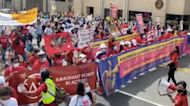 Large Crowds of Protesters Demand Immigration and Climate Reform During March Across DC
