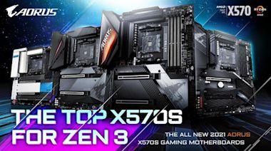 技嘉宣布 X570S 系列主機板,最低 14 相供電、晶片組採無風扇散熱 - Cool3c