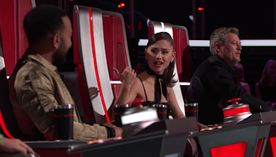 'The Voice': Ariana Grande and John Legend Walk Off When Blake Shelton and Kelly Clarkson Start Fighting