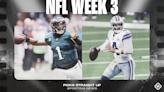 NFL picks, predictions for Week 3: Eagles upset Cowboys; Saints, Chiefs rebound vs. Patriots, Chargers