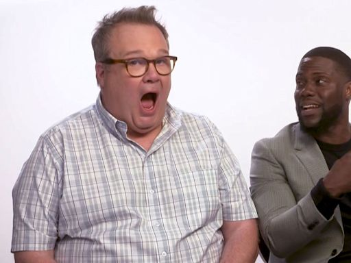 'The Secret Life of Pets 2' star Kevin Hart says co-star Eric Stonestreet 'saved his life'