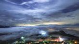 秋季限定美景!阿里山頂石棹琉璃光影雲霧變化如仙境