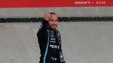 Motor racing-Hamilton claims 100th F1 win with victory in Russia