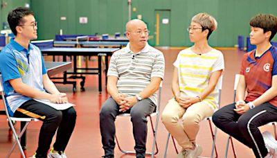 杜凱琹受哥哥影響愛上乒乓球