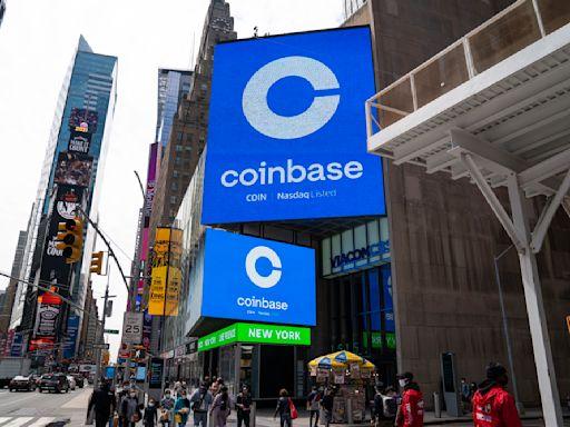 《美股業績》Coinbase上季多賺23倍 收入略遜預期