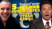 Five-Second Summaries with Ethan Hawke