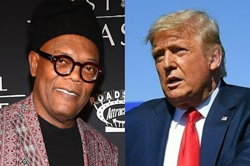 Samuel L Jackson toned down anti-Trump tweets after death threats from 'radical crazy people online'