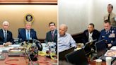 See Side-by-Side Photos of Donald Trump During ISIS Leader Raid and Barack Obama Watching Osama bin Laden Operation