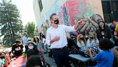 Gavin Newsom says his emphatic California recall win shows Democrats should 'stiffen their spines' on Covid action