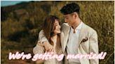 戴夢夢宣佈與圈外男友結婚:一起在走是一種幸福
