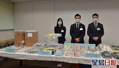 警破利用中學生販毒集團拘4人 搗公屋製毒工場檢近4000萬元K仔