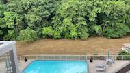 Creek Rises in Wilmington Amid Delaware Storms