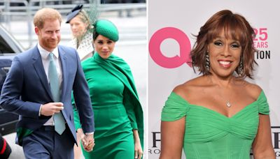 Harry and Meghan's close friend Gayle King to host TV special on the Queen