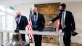 Biden, Johnson strike warm tone in first meeting