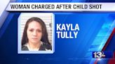 Florida woman charged after 7-year-old shot by sibling with shotgun
