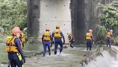 新北虎豹潭山洪事故再尋回一少女遺體 仍有一童失蹤