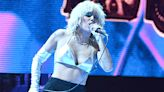 Miley Cyrus Rocks Out In Sexy Silver Crop Top For Atlanta Concert — Videos