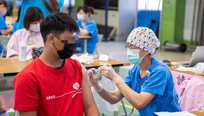 台東縣高中職學生接種輝瑞BNT疫苗 (圖)