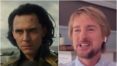 Owen Wilson praises Tom Hiddleston's Loki lectures: 'If i had had teachers like Tom, I would have done better at school'