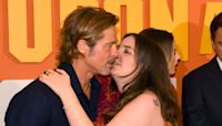 Lena Dunham explains what really happened with awkward Brad Pitt kiss
