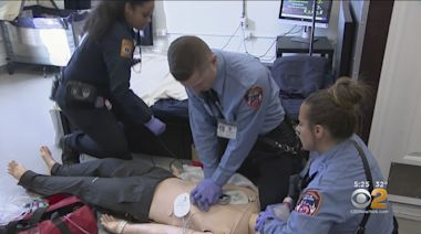 Only On CBS2: FDNY EMTs, Paramedics Receive State-Of-The-Art Training