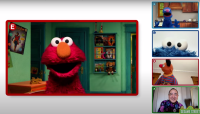Check Out Elmo's Pandemic 'Playdate' Special
