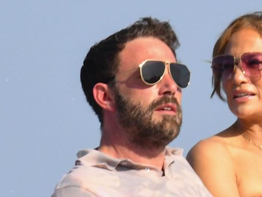 Jennifer Lopez and Ben Affleck Continue Their PDA Tour by Making Out on a Naples Dock