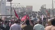 Protesters Wounded in Clashes with Security Forces on Anniversary of Iraq Protests